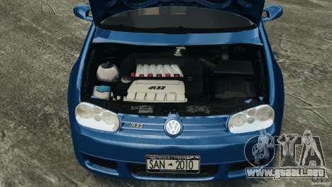 Volkswagen Golf 4 R32 2001 v1.0 para GTA 4 vista interior