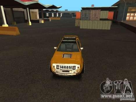 Hummer H0 para la visión correcta GTA San Andreas