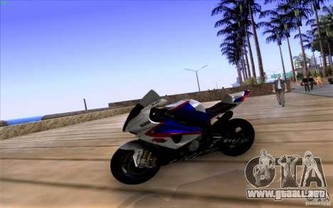 BMW S1000 RR para la visión correcta GTA San Andreas