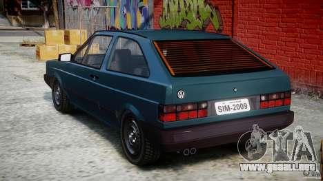 Volkswagen Gol GL para GTA 4 Vista posterior izquierda