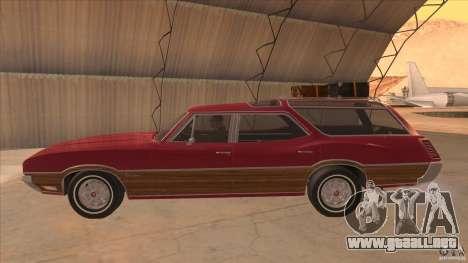 Oldsmobile Vista Cruiser 1972 para GTA San Andreas left