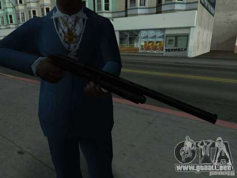 Remington 870 Action Express para GTA San Andreas tercera pantalla