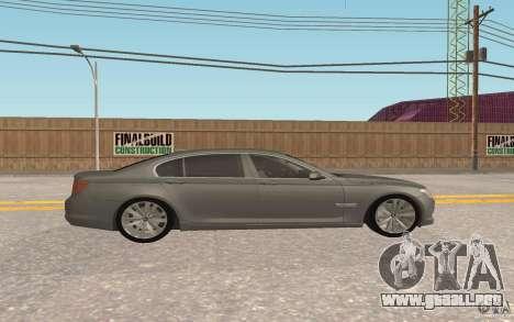 BMW 730d para visión interna GTA San Andreas