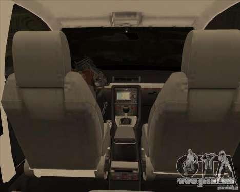 AUDI S4 Sport para la vista superior GTA San Andreas