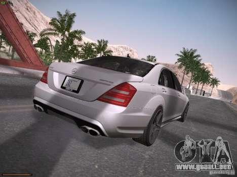 Mercedes Benz S65 AMG 2012 para la visión correcta GTA San Andreas