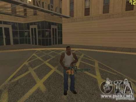Regeneración de los brazos en asesinato para GTA San Andreas