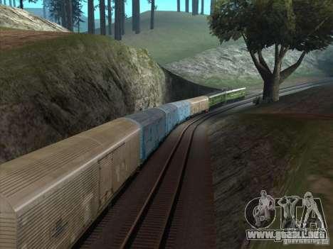 2te10u-0238 para GTA San Andreas vista hacia atrás