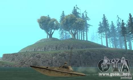 GTA III Ghost para GTA San Andreas vista hacia atrás
