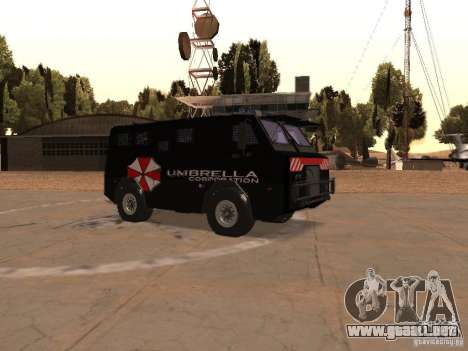 AM 7.0 Umbrella Corporation para visión interna GTA San Andreas