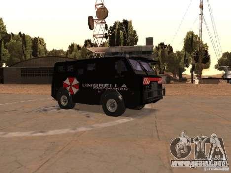 AM 7.0 Umbrella Corporation para visión interna GTA San Andreas