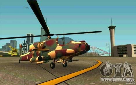 Hunter Armee Look para GTA San Andreas left