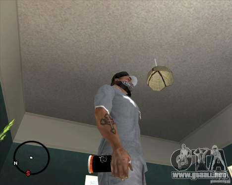 Lata de aerosol Montana para GTA San Andreas segunda pantalla