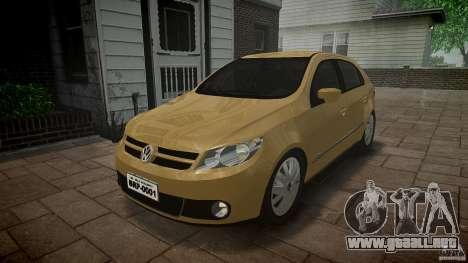 Volkswagen Gol 1.6 Power 2009 para GTA 4 vista hacia atrás