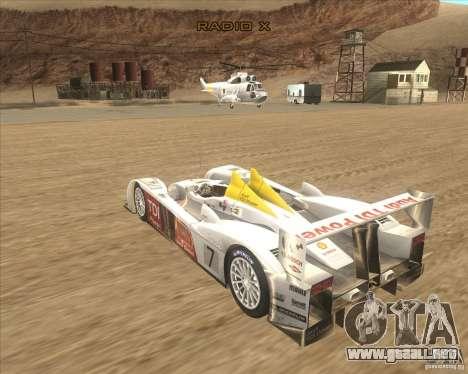 Audi R10 TDI para GTA San Andreas left