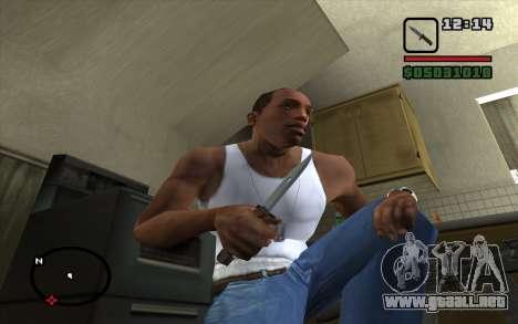 Bayoneta AKM para GTA San Andreas