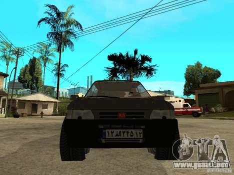 Kia Pride para la visión correcta GTA San Andreas
