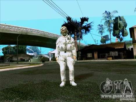 Camuflaje electrónico Morpeh para GTA San Andreas
