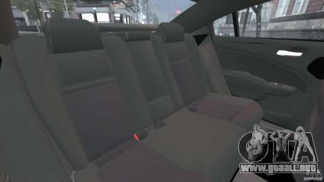 Dodge Charger Unmarked Police 2012 [ELS] para GTA 4 vista lateral