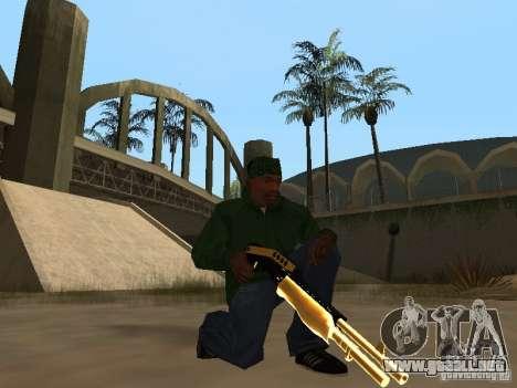 Armas de Pak de oro para GTA San Andreas sexta pantalla