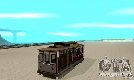 Tram para GTA San Andreas left