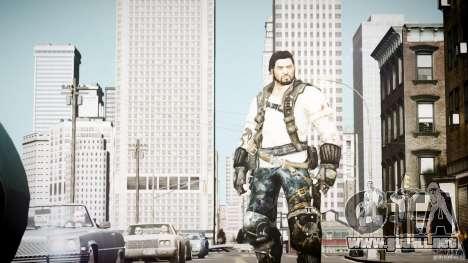 Jim Raynor para GTA 4 adelante de pantalla