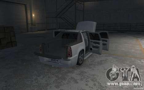 Chevrolet Avalanche v1.0 para GTA 4 vista desde abajo