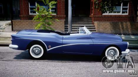 Buick Skylark Convertible 1953 v1.0 para GTA 4 vista superior