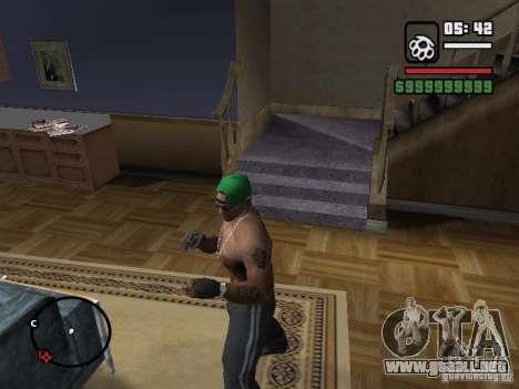 Guantes sin dedos para GTA San Andreas
