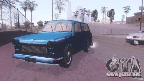 Trabant 601S para GTA San Andreas