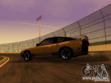 Nissan 240sx Street Drift para GTA San Andreas left