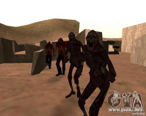 Zombie Half life 2 para GTA San Andreas quinta pantalla
