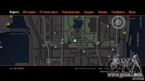 CG4 Radar Map para GTA 4 octavo de pantalla