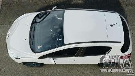 Peugeot 308 GTi 2011 v1.1 para GTA 4 visión correcta