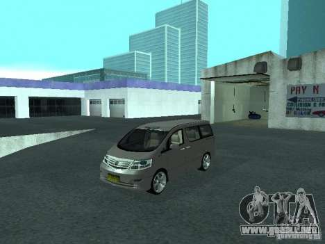 Toyota Alphard G Premium Taxi indonesia para GTA San Andreas
