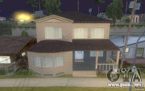 Cuatro casas nuevas en Grove Street para GTA San Andreas