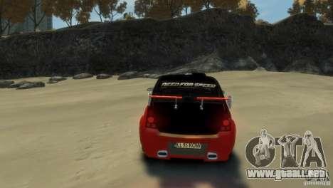 RENAULT LOGAN SPORT para GTA 4 Vista posterior izquierda