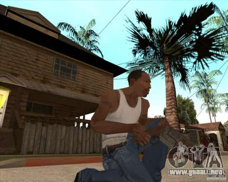 CoD:MW2 weapon pack para GTA San Andreas octavo de pantalla