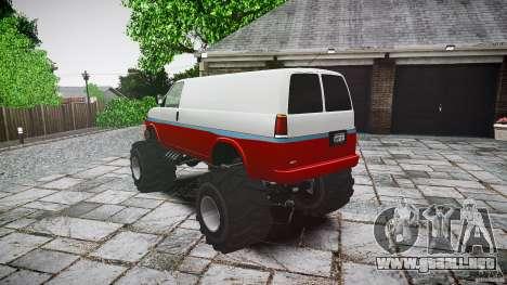 MEGA Speedo v0.9 para GTA 4 Vista posterior izquierda