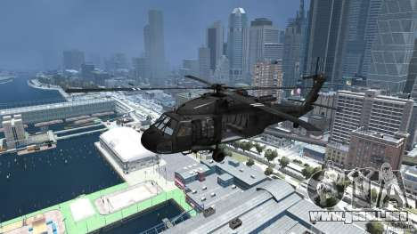 Sikorsky UH-60 Black Hawk para GTA 4