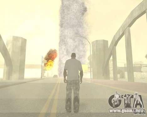 Tornado para GTA San Andreas séptima pantalla