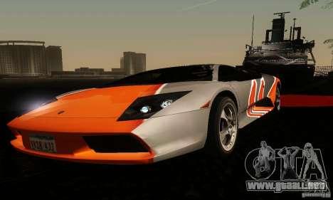 Lamborghini Murcielago para visión interna GTA San Andreas