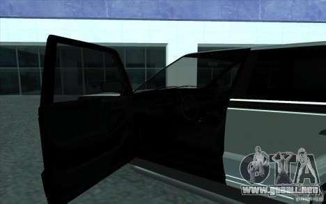 Huntley de GTA 4 para GTA San Andreas vista hacia atrás