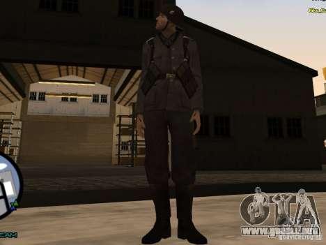 Unteroficer de la Wehrmacht para GTA San Andreas segunda pantalla