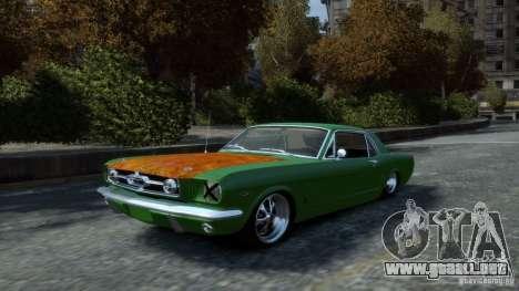 Ford Mustang GT MkI 1965 para GTA 4