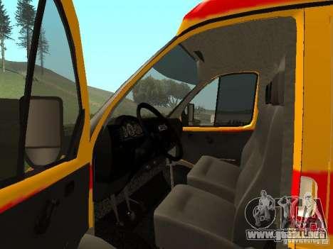 GAS reanimación 32217 para la visión correcta GTA San Andreas