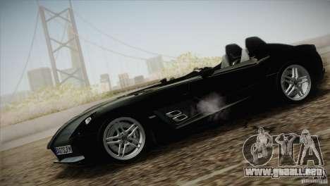Mercedes-Benz SLR Stirling Moss 2005 para la visión correcta GTA San Andreas