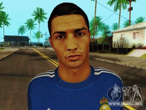 Cristiano Ronaldo v2 para GTA San Andreas sexta pantalla