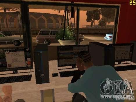 Ganton Cyber Cafe Mod v1.0 para GTA San Andreas séptima pantalla