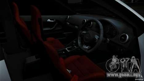 Audi S3 Euro para vista inferior GTA San Andreas