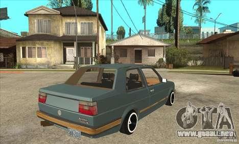 Volkswagen Jetta MKII VR6 para la visión correcta GTA San Andreas